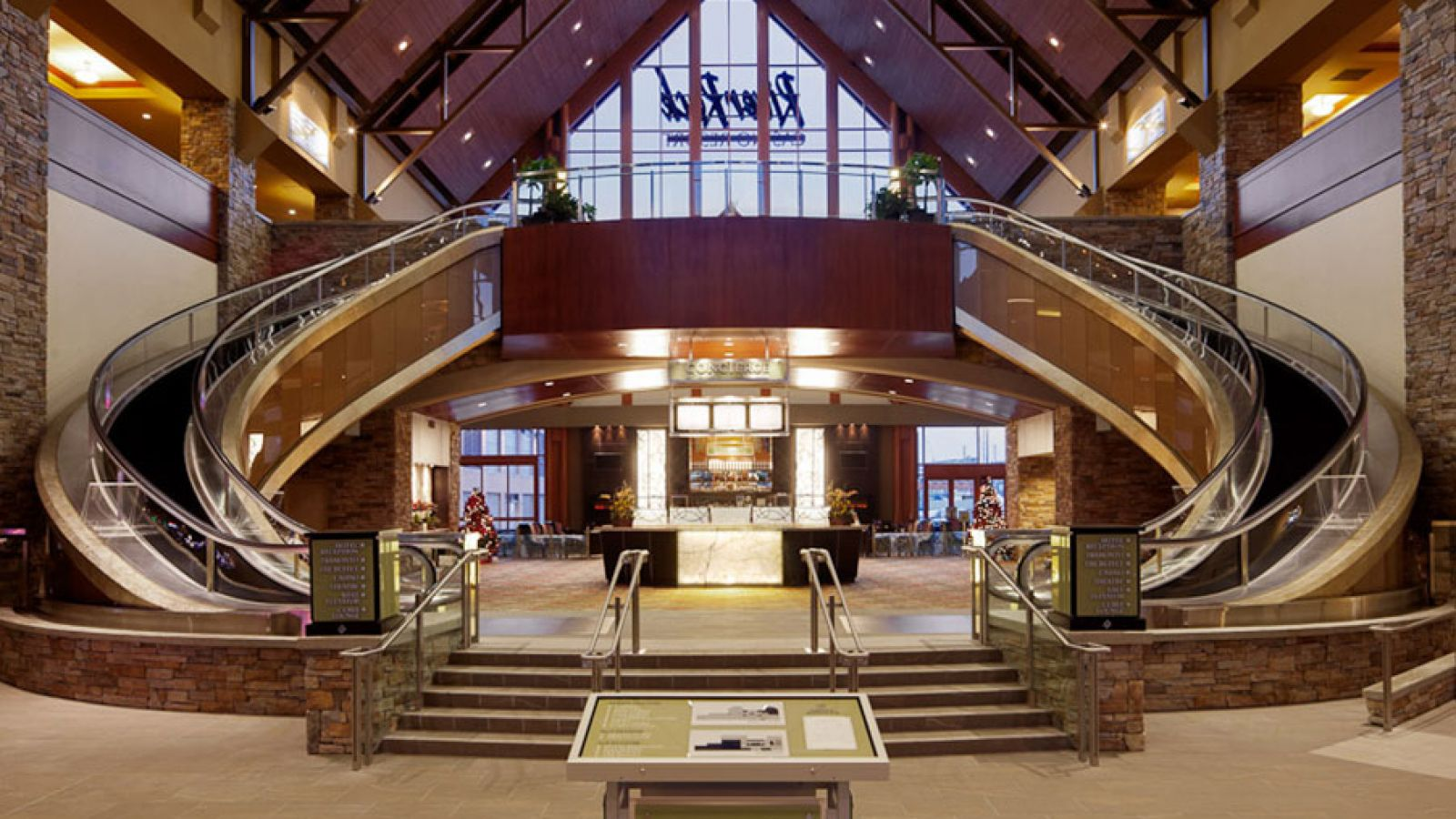 Grand Lobby at the River Rock Casino Richmond