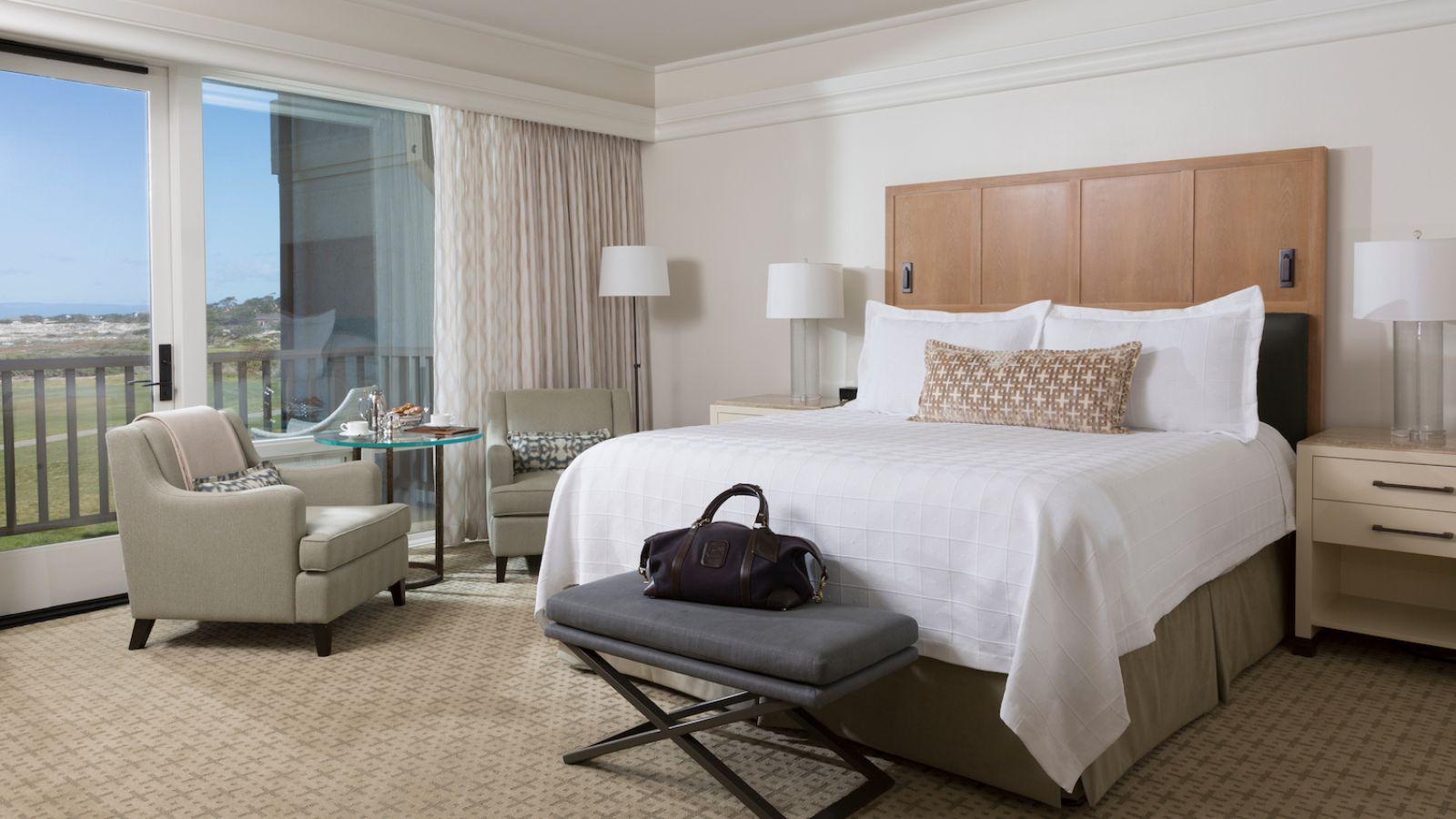 The Inn at Spanish Bay ™Renovated Ocean View Room - Pebble Beach Resorts®  © Noah Webb