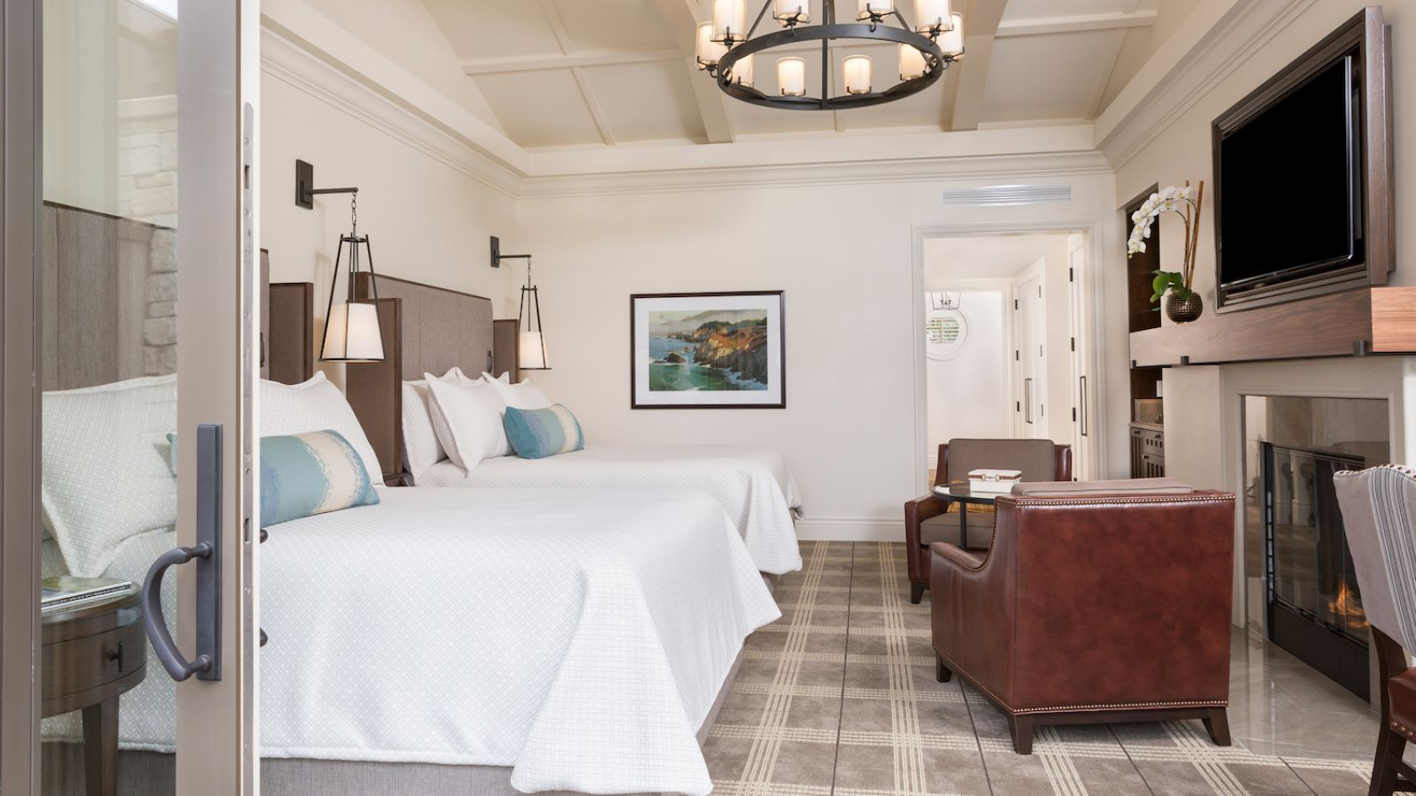 Fairway One Room Facing Interior - Pebble Beach Resorts® - © Noah Webb