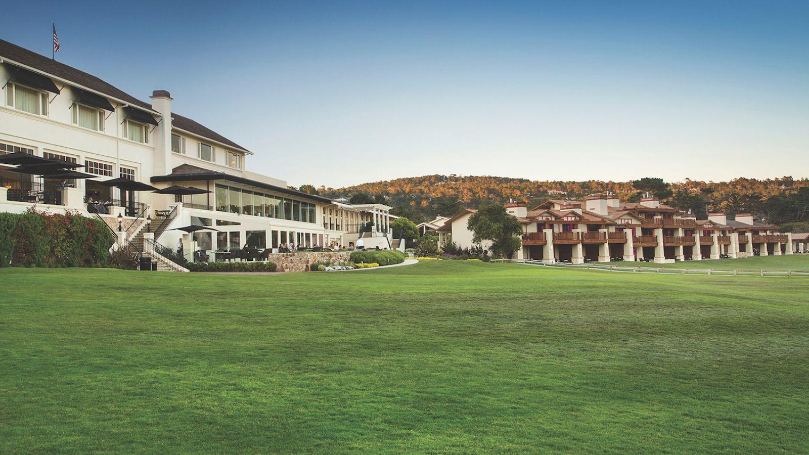 The Lodge at Pebble Beach™ Historic Main Building New Building -  Pebble Beach Resorts®  © Noah Webb