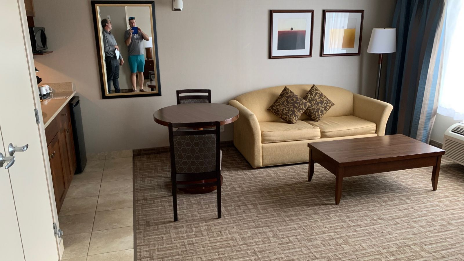 King Suite room - great for groups
