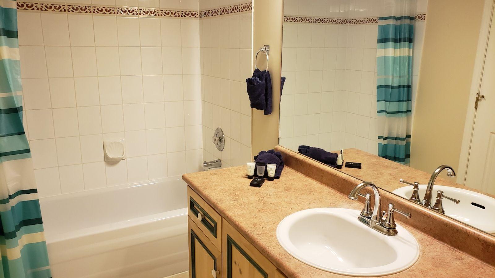 Borgata Lodge - typical bathroom