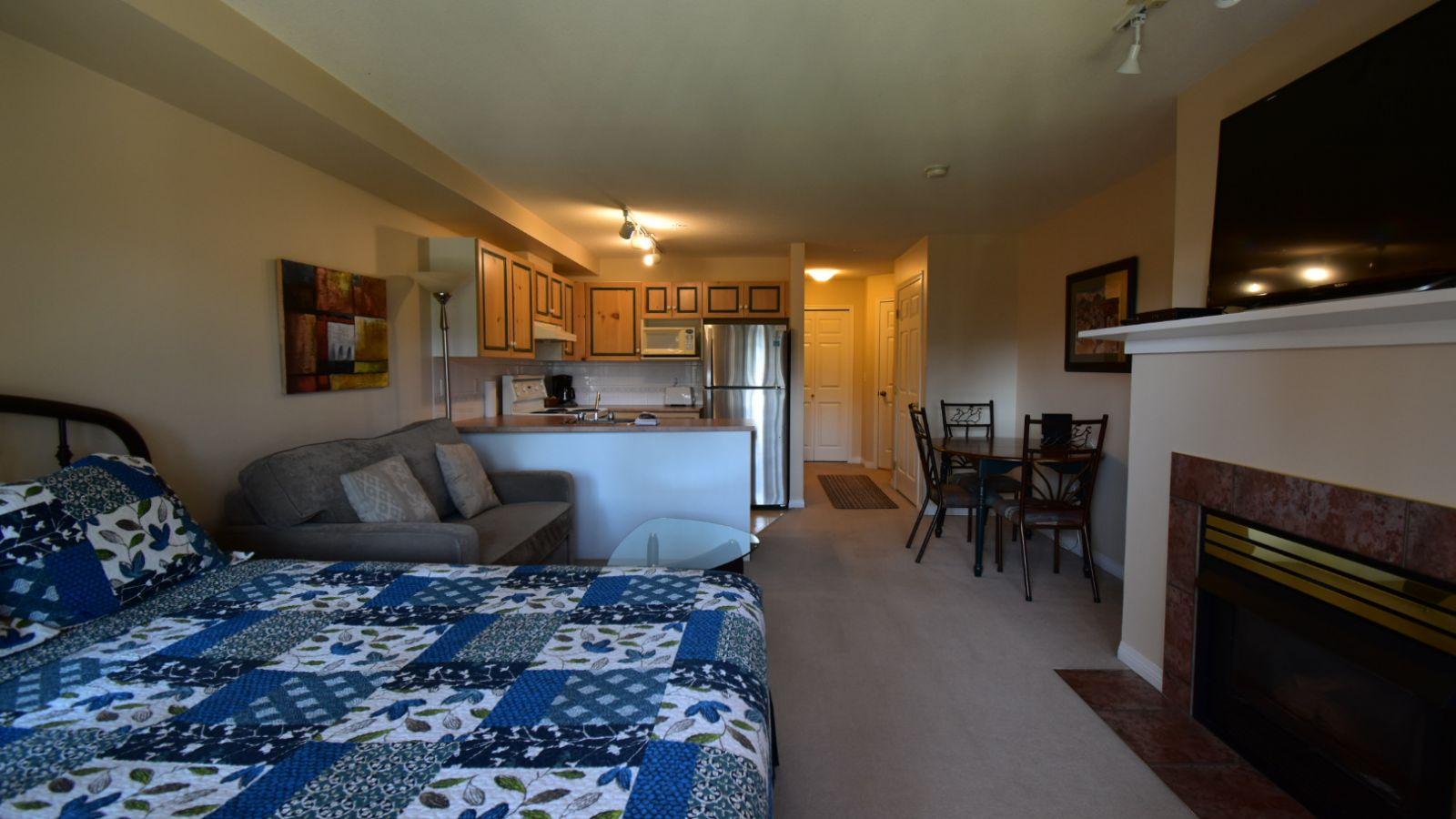 Borgata Lodge - bedding varies from unit to unit