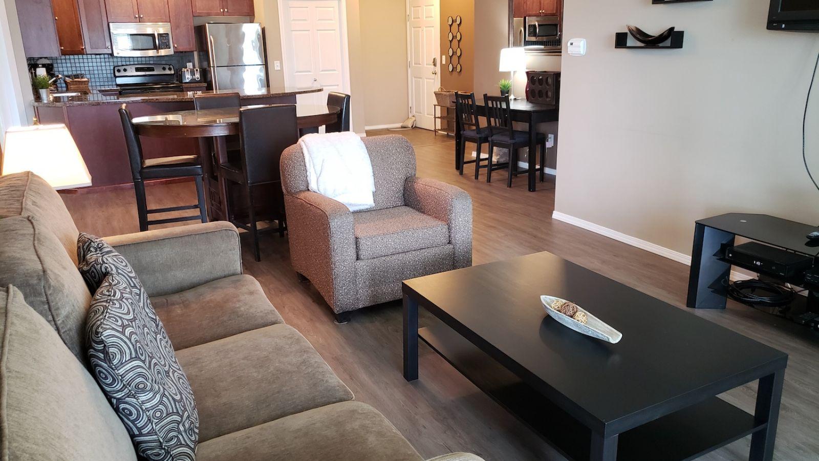 Pinnacle Condos - typical living rooms