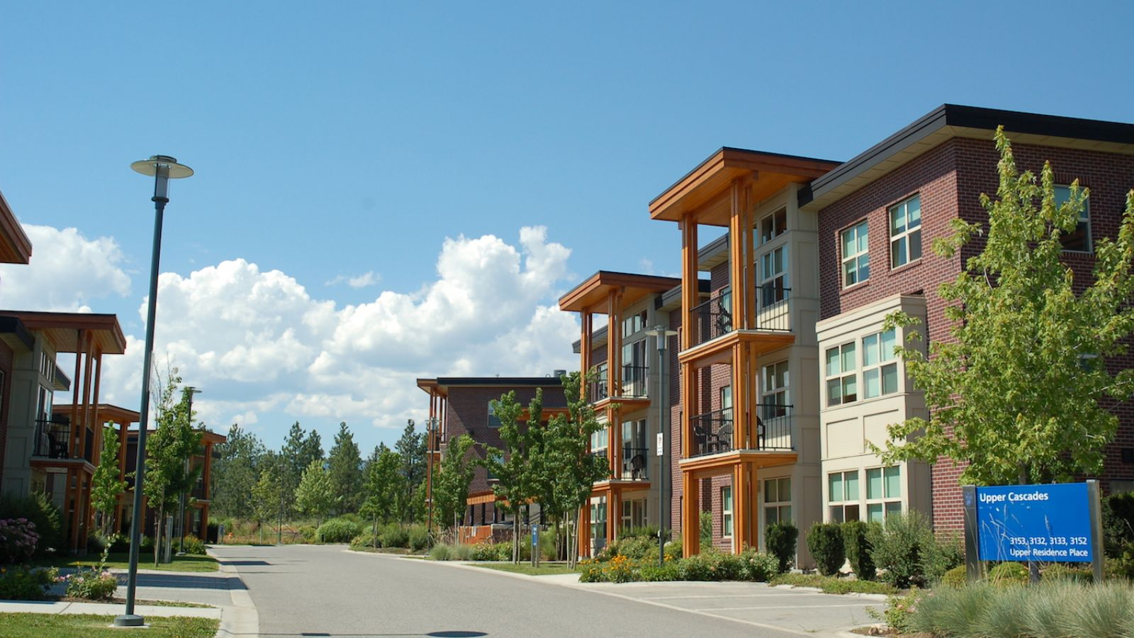 The Residence at UBCO - outside View