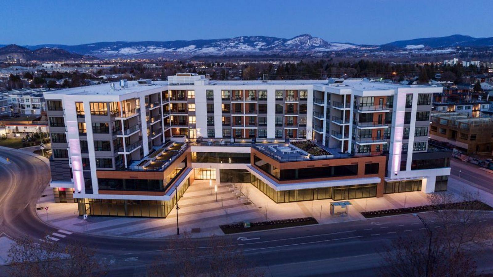 The Shore - Kelowna condo suites  by Lake Okanagan