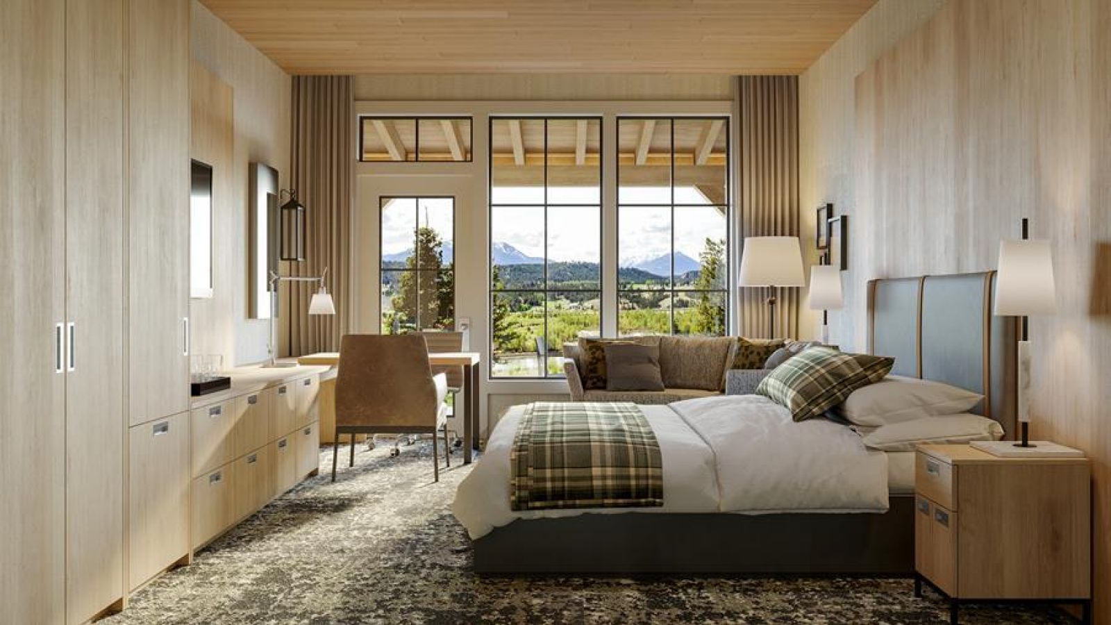 Headwaters Lodge at Eagle Ranch Resort - Forester Superior 2 Queen