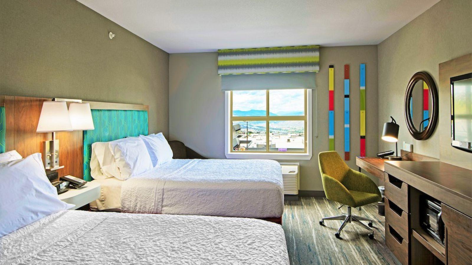 Hampton Inn Kamloops - Queen / Queen room - renovated