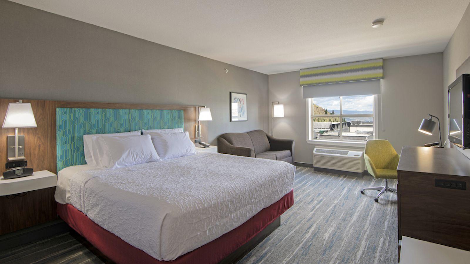 Hampton Inn Kamloops - King room - renovated