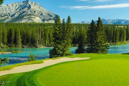 Fairmont Banff Springs 3 night, 2 round golf vacation