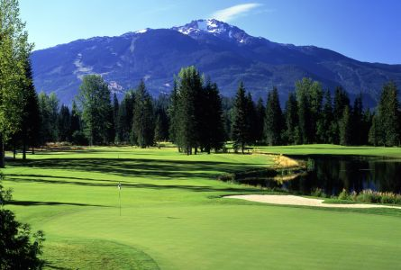 Fairmont Chateau Whistler Resort golf  4 night golf vacation
