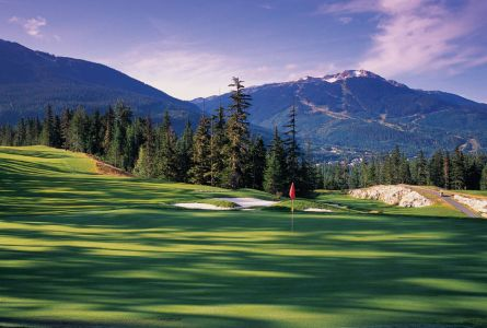 Four Seasons Whistler 5 night 4 round golf package