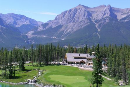 Alberta Rockies 3 night 3 round Canmore golf vacation