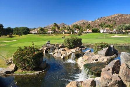 San Diego 4 night stay and play package at Singing Hills Golf Resort at Sycuan