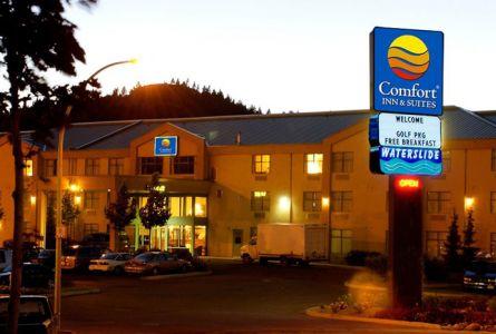 Comfort Inn & Suites Kamloops Golfer Special