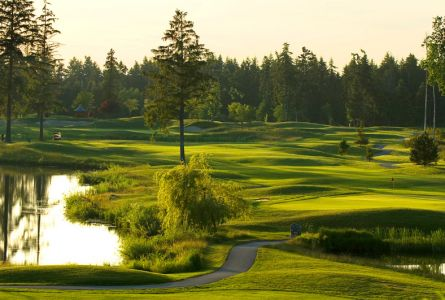 Crown Isle Resort 3 night 2 round weekend golf package