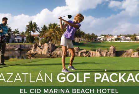 Mazatlan Golf with El Cid Resorts