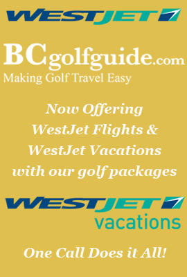 westjet golf packages with bcgolfguide