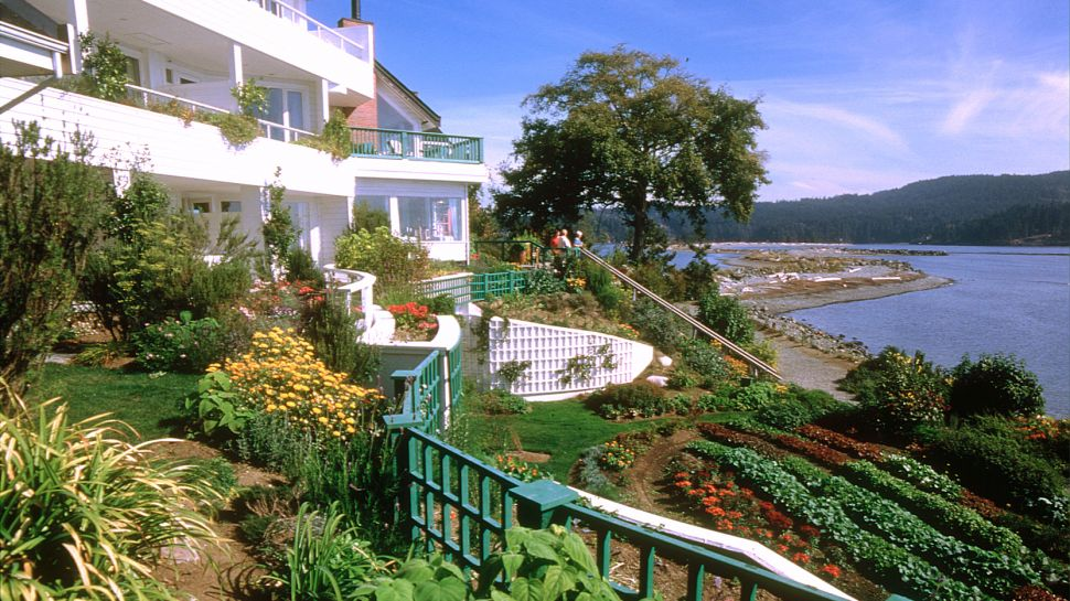 Sooke Harbour House Rooms