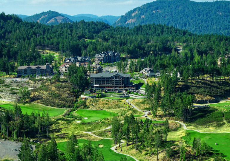 Bear Mountain Golf Resort And Spa In Victoria British Columbia