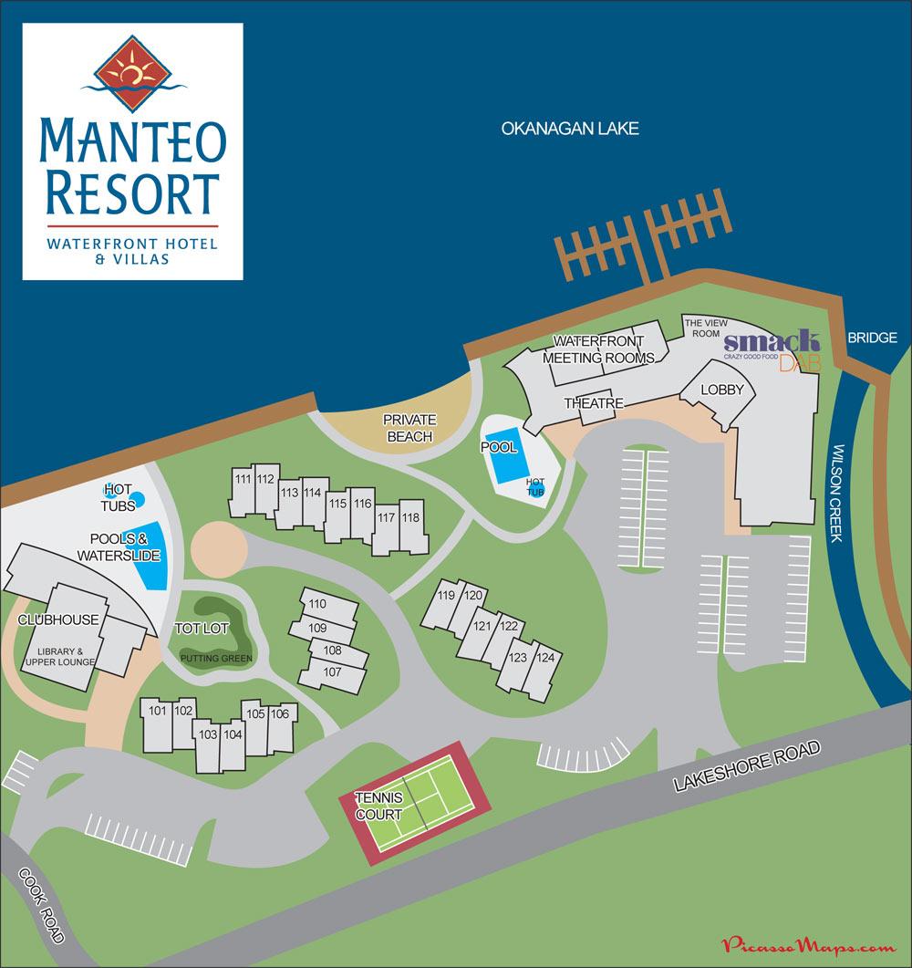 Application Site Map: Manteo Resort Waterfront Hotel & Villas