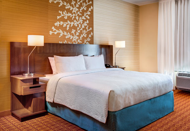 fairfield by marriott kamloops - king suite