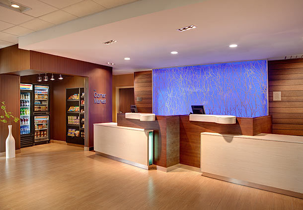 fairfield by marriott kamloops - lobby