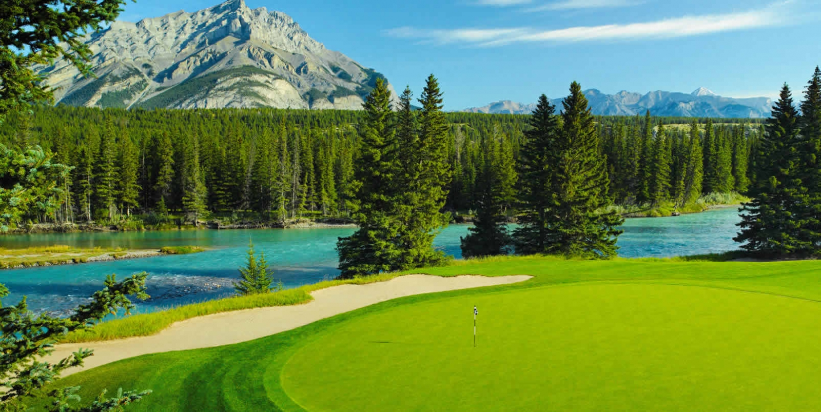 Fairmont Banff Springs Resort 3 night 2 round golf weekend ...