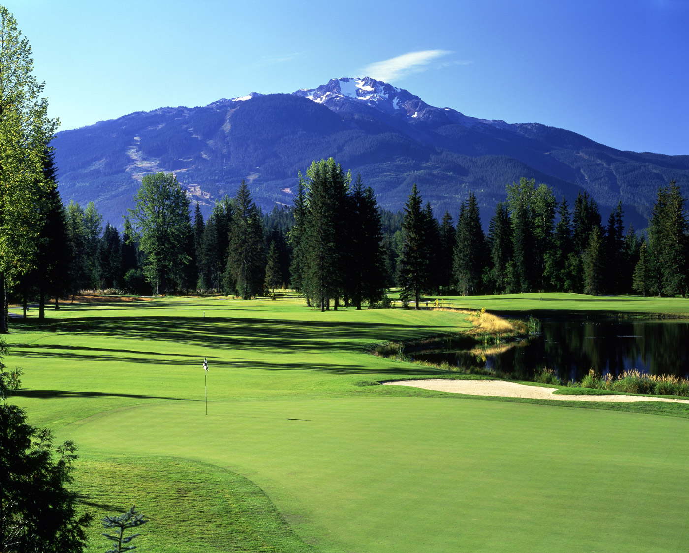 Napa Valley Hotels >> Great BC mountain golf with this 4 night 3 round whistler golf package