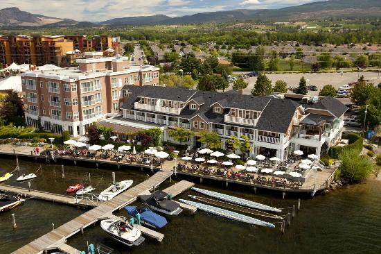 Eldorado Hotel Kelowna Offers Lakeside Views And Great