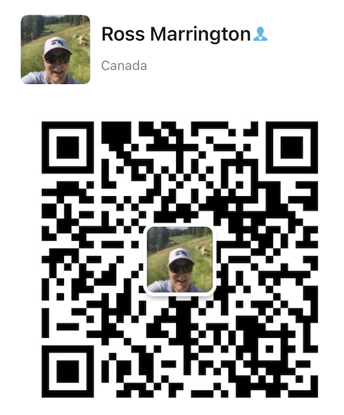 we chatt QR code for BCGolfguide